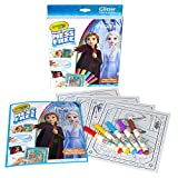 Crayola Frozen 2 Glitter Effects Color Wonder Set, Mess Free Coloring, Gift for Kids, 3, 4, 5, 6