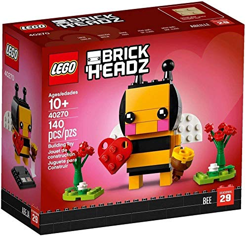 Valentine's Bee - Say I love you with a LEGO BrickHeadz Valentine's Bee!