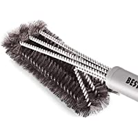 BEST BBQ Grill Brush Stainless Steel 18