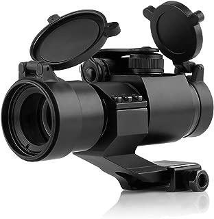 Very100 ドットサイト ダットサイト 照準器 Aimpoint COMP M2 レプリカ ハイマウント 20mmレールに対応 レッド/グリーン2色 各5段階輝度 バトラーキャプ付き サバゲー エアガン 電動ガン ハンドガン 実銃対応