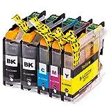 5 EasyInk Druckerpatronen zu Brother LC-223 für MFC-J 4620 DW MFC-J 4625 DW MFC-J 480 DW MFC-J 5320 DW MFC-J 5600 Series MFC-J 5620 DW MFC-J 5625 DW MFC-J 5720 DW MFC-J 680 DW MFC-J 880 DW