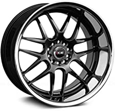 XXR Wheels 526 Chromium Black Wheel with Painted Finish and SS Chrome Lip (20 x 11. inches /5 x 114 mm, 11 mm Offset)