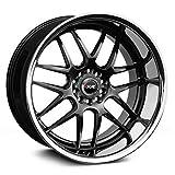 xxr wheels 526 - XXR Wheels 526 Chromium Black Wheel with Painted Finish and SS Chrome Lip (20 x 11. inches /5 x 114 mm, 11 mm Offset)