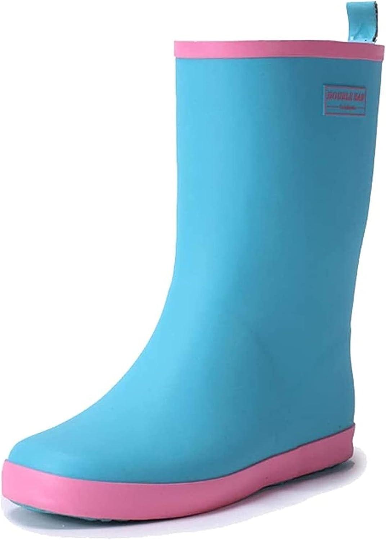 Brand Cheap Sale Venue YUESFZ rain Boots Fashion Colorful Tub Women's Rain Middle Gorgeous