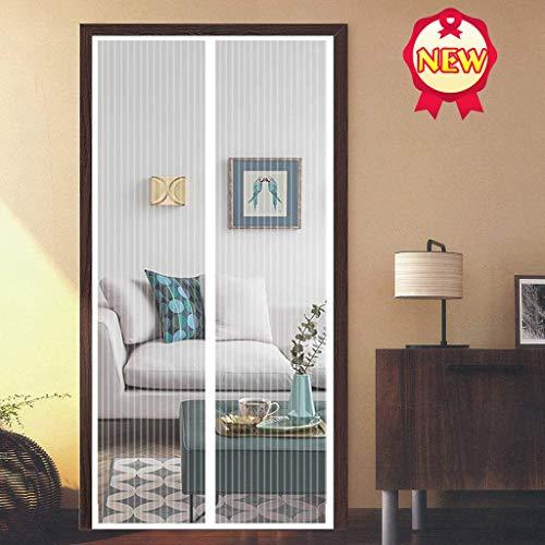 Aboygo Insektenschutzrollo Fenster 75x190cm Selbstklebend Befreien Ihre Hände vom Aufklappen Stärker als Normales Fliegengitter Mehrere Größen für Dachfenster Bodentiefe Fenster - Weiß