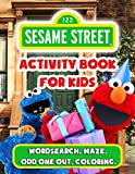 Sesame Street Activity Book For Kids: Motivate Your Kids By The Creative Activity Book - Lots Of Puzzle, Dot To Dot, Scramble, Odd One Out, Etc. And ... Seasame Street Images Are Waiting For Them