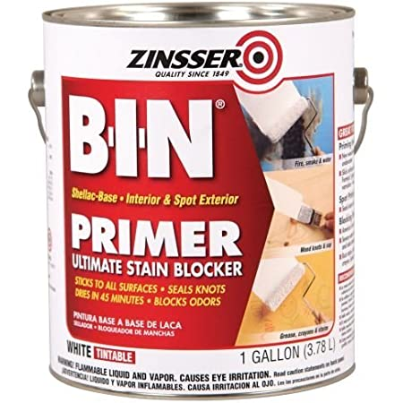 Zinsser B-I-N Shellac-Base Primer, 1-Gallon, White