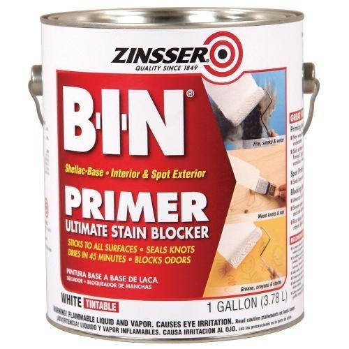 Zinsser B-I-N Shellac-Base Primer, 1-Gallon, White