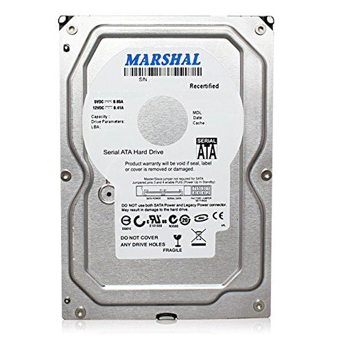 Marshal 5TB 7200RPM 64MB Cache SATAⅢ(6.0Gb/s) 3.5 Inch Internal Hard Drive Near Line Model 64MB Cache 7200rpm MAL35000SA-T72 for All Use, Especially Desktop Storage