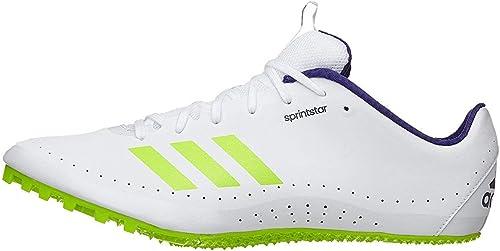 adidas Running Unisex Sprintstar Footwear Weiß Crystal Weiß Real lila 8 damen   7 Men M US