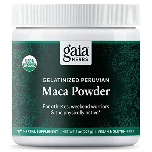 Gaia Herbs Organic Maca Powder review
