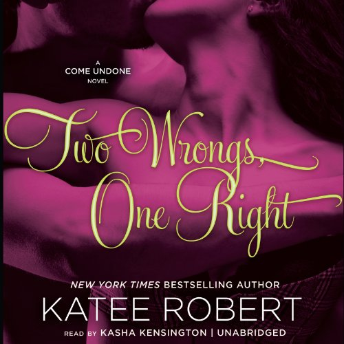 Two Wrongs, One Right audiobook cover art