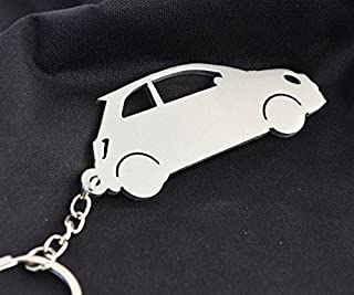 CHOOSE YOUR CAR COLOUR. FIAT COUPE METAL KEY RING
