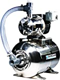BurCam 506547SS SW Stainless Steel Jet Pump/Tank, Ml25H 3/4...