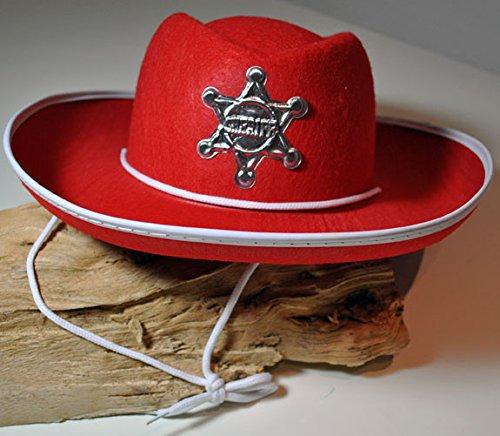 Fiesta Palace - chapeau cowboy feutrine avec étoile noir pour enfant