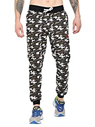 Mens Camouflage Cotton Track Pant
