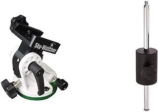 SkyWatcher S20530 Star Adventurer Latitude (EQ) Base, Telescope Accessory, Black & S20540 Star Adventurer Counter Weight Kit, Telescope Accessory, Black