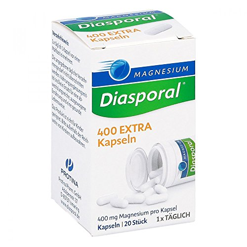 Magnesium Diasporal 400 Extra Kapseln, 20St, 240 g
