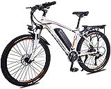 Nueva bicicleta de montaña eléctrica, 26' Electric bicicleta de montaña, 350W sin escobillas del motor, desmontable 36V / 13Ah Batería de litio, 27 Transmisión, Suspensión Tenedor, Frenos de doble dis