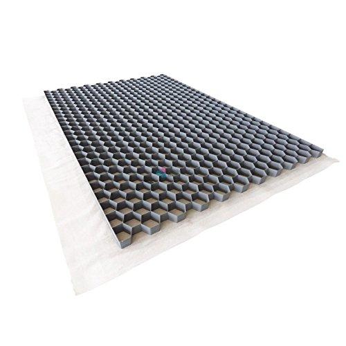 Nidagravel stabilisateur de graviers 2,9 cm Couleur Gris