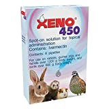 Xeno 450 spot-on for Rabbits, Ferrets and Guinea pigs, box of 6
