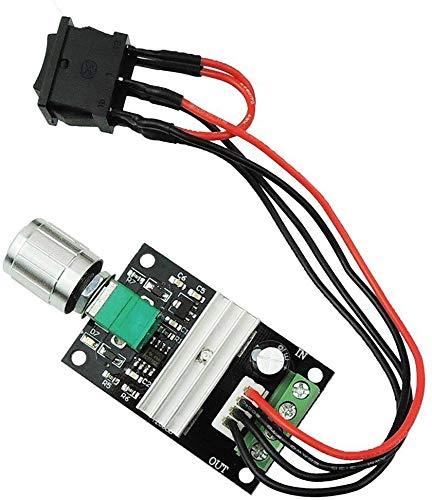 Gebildet 1PCS 6V-28V 3A 80W DC Controlador de Velocidad del Motor,PWM de Control del Motor de Velocidad,Ajustable Reversible Regulador Interruptor,1203BB DC Conductor del Motor de Marcha Atrás