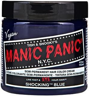 Manic Panic High Voltage Classic Cream Formula Colour Hair Dye 118ml (Shocking Blue)