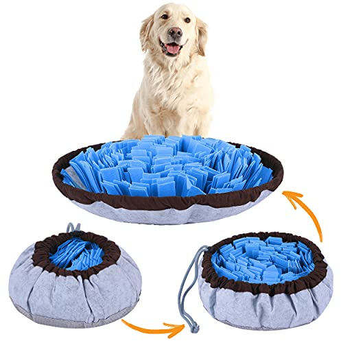 PET ARENA Adjustable Snuffle mat for Dogs, Dog Puzzle Toys, Enrichment...