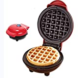 •Mini Waffle Maker TERRA Machine for Individual Waffles, Paninis, Hash Browns