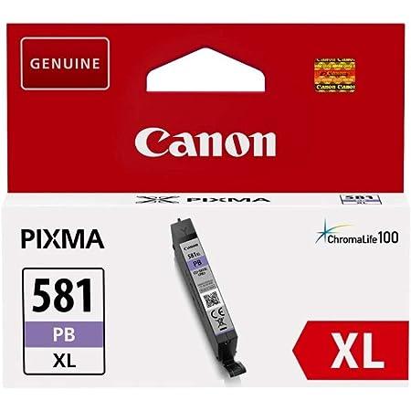 Canon CLI-581XL Cartouche PB Photo Bleu XL (Pack plastique sécurisé)