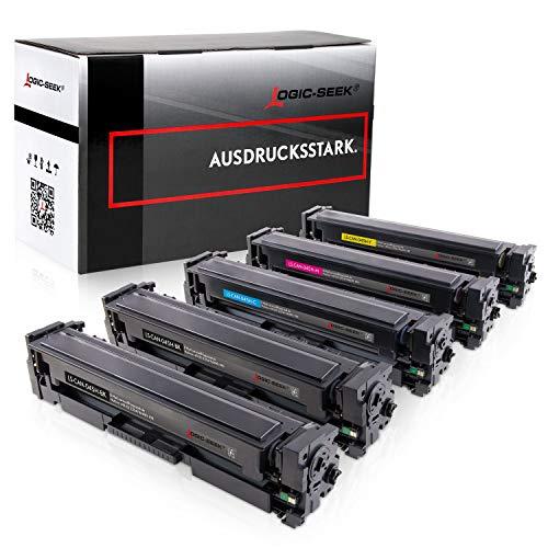 Logic-Seek 5 Toner kompatibel zu Canon i-SENSYS LBP613Cdw MF-631 632 634 635 636 LBP-611 612 613-045H