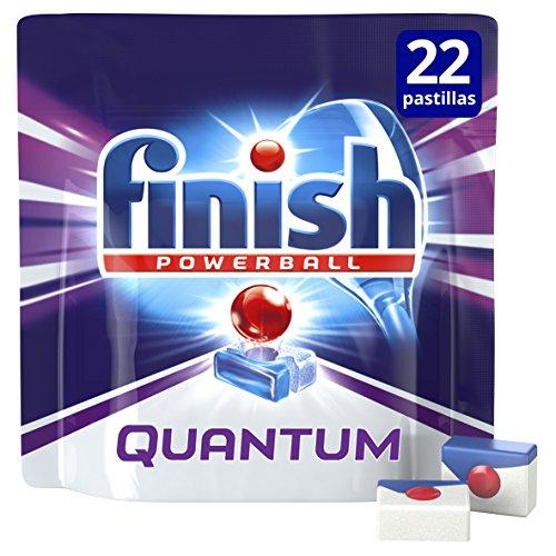 Finish Quantum Pastillas para lavavajillas, 80 pastillas