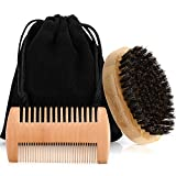 2 Pieces Beard and Comb Set