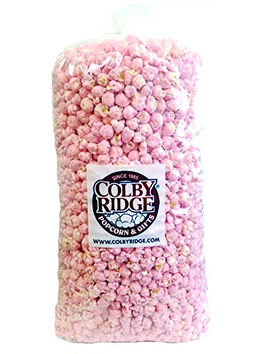 Best Review Of Baby Pink Popped Popcorn 91 oz. (Bulk 5 gal, 80 Cups)