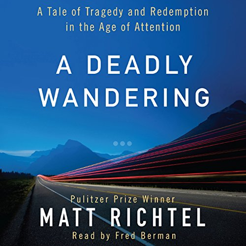 A Deadly Wandering audiobook cover art