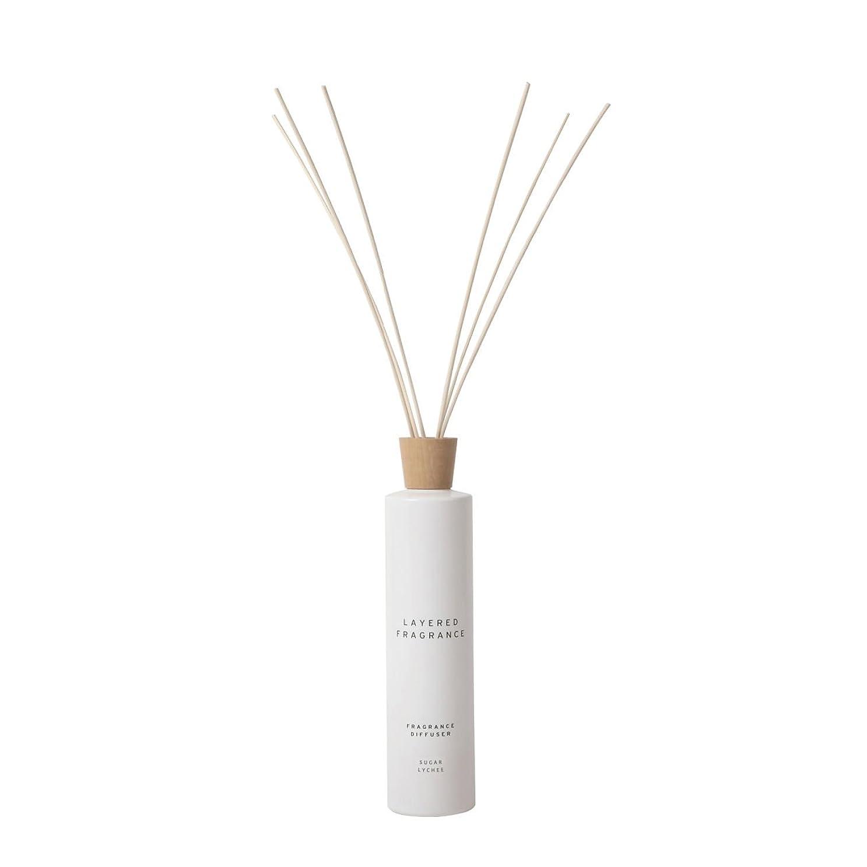 業界アイザック櫛空間ごとに香りを使い分けて楽しむ レイヤードフレグランス フレグランスディフューザー シュガーライチ 500ml