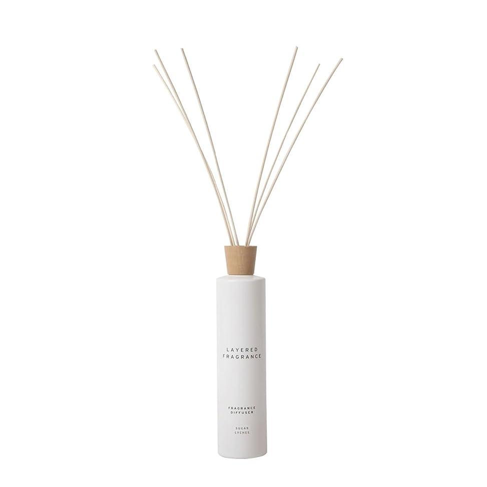 外交売上高誘導空間ごとに香りを使い分けて楽しむ レイヤードフレグランス フレグランスディフューザー シュガーライチ 500ml