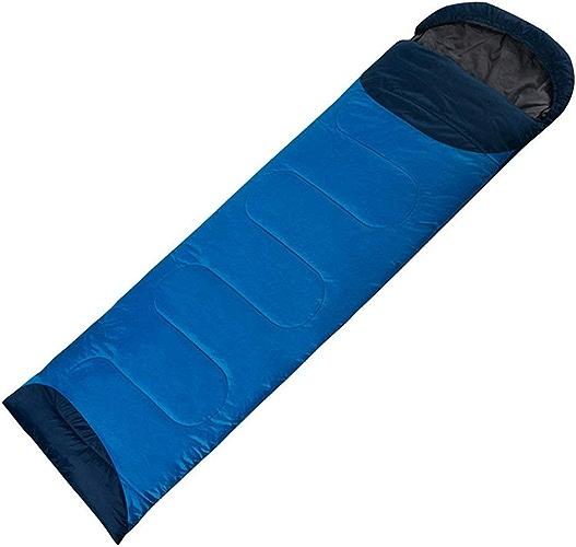 WYJW Sac de Couchage Enveloppe de Couchage shuidai Splicable Camping en Plein air Randonnée en Plein air Rectangulaire Simple épaissir Sac de Couchage en Coton (190 + 30)  72cm