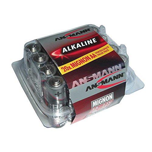 Ansmann Batterie Alkaline Mignon LR 06 1,5 V 1 x = 1Box + 20Stk + Flicken