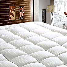 ST Starcast Full Size Mattress Pad Pillow Top Mattress Cover Quilted Fitted Mattress Protector Cotton Top 8-21