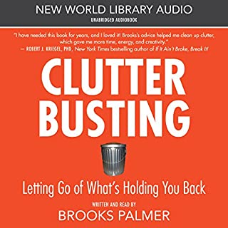 Clutter Busting audiobook cover art