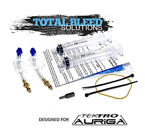 Total Bleed Solutions TBS Tektro/TRP Hydraulische Bremsen Entlüftungskit für Mountainbikes