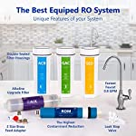 Express Water - ROALK5D Reverse Osmosis Alkaline Water Filtration System – 10 Stage RO Water Filter with Faucet and Tank… 14 Reverse Osmosis Water Filter: Experience what water should taste like with the Express Water reverse osmosis water filtration system removing up to 99. 99% of Lead, Chlorine, Fluoride, Nitrates, Calcium, Arsenic, Bacteria, and more Alkaline Water Filter: Express Water's Alkaline Water Filter with Active Mineral Technology adds Calcium, Potassium, Magnesium, and other minerals to your water Under Sink Water Filter: Don't waste money on professional installation. Express Water's quick and easy-to-understand design means you can install and understand everything about your new water filtration system