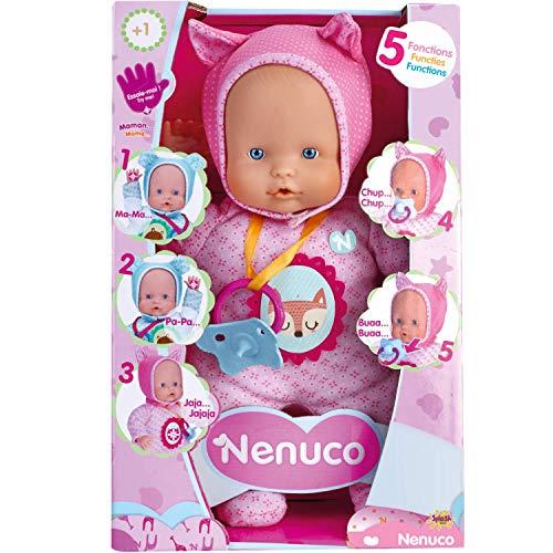 Nenuco de Famosa- 700014781 Muñeco Blandito 5 funciones, Co