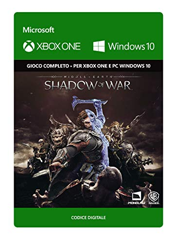 Middle-Earth: Shadow of War: Standard Edition | Xbox One/Windows 10 PC - Codice download