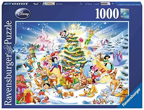 Disney Christmas Eve   Puzle (1000 Piezas), diseño de árbol de Navidad