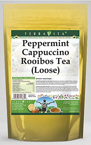 Peppermint Cappuccino Rooibos Tea Loose ZIN: oz Lowest price challenge 544534 2021 spring and summer new - 4