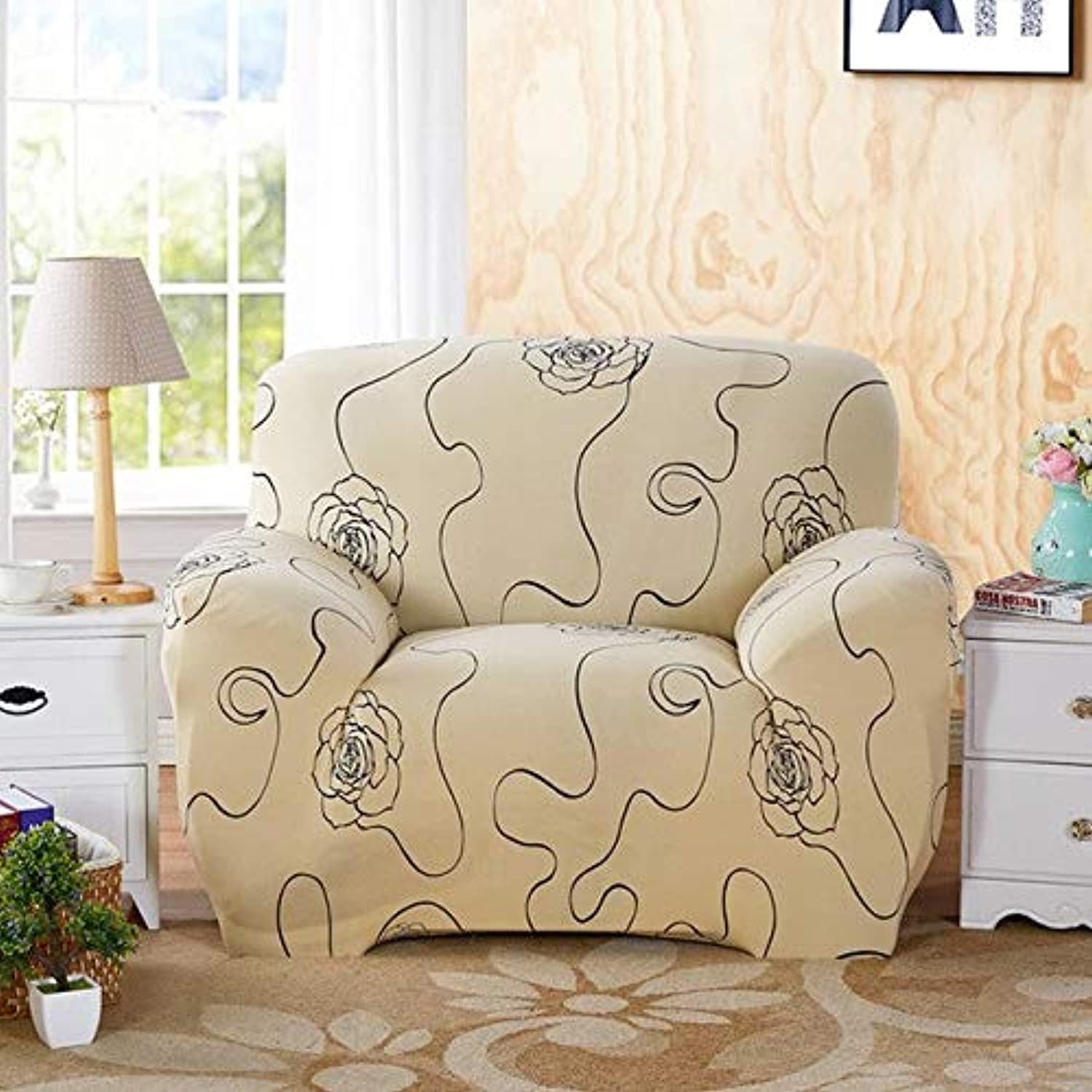 All-Inclusive Stretch Sofa Cover Without Armrest High Elastic Couch Cover Sofa Slipcovers Living Room Sofa Predection Bed Cover   Style 3, S