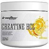 Iron Flex Creatine HCl - 1 paquete - Clorhidrato de creatina - Soporte para la ganancia muscular - Músculos más fuertes - Regeneración (Orange, 200g)