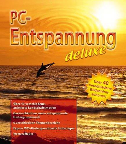 PC-Entspannung deluxe, 1 CD-ROMÜber 40 verschiedene Bildschirmschoner. Für Windows 98 (SE)/ME/2000/XP/Pentium oder höher